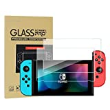 Maexus Nintendo Switch Schutzfolie, 2 Stück Switch Gehärtetem Glas Screen Protector Anti-Water,Oil für Nintendo Switch Konsole