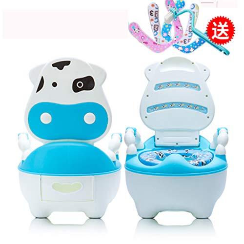 LIBWX Baby Potty Asiento con baño de Entrenamiento con escalón Taburete Escalera...
