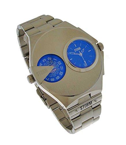 c2565a63cb51 Storm London DUALMATIC 47247 B Reloj de Pulsera para hombres Segundo Huso  Horario