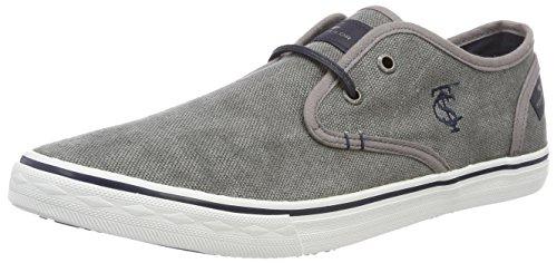 TOM TAILOR Herren 4881405 Bootsschuhe, Grau (Grey), 45 EU