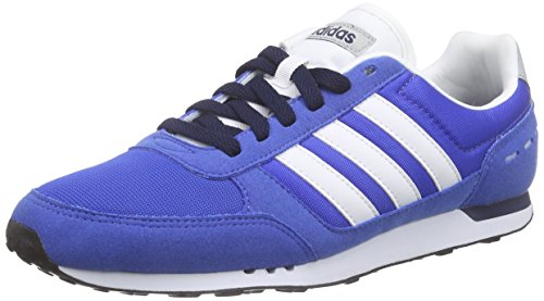 Adidas Neo City Racer, Zapatillas para Hombre, Azul (Azul / Ftwbla / Maruni), 42 EU