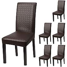 yisun housse cuir pu stretch housse impermable couverture de chaise universel extensibles de chaise moderne - Chaise En Cuir