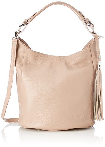 Bags4Less - Zara, Borse a spalla Donna Rosa (Nude)