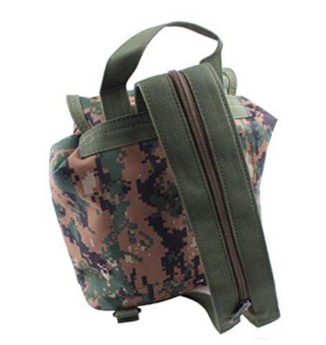 GOUQIN Outdoor Rucksack Klassische Mode Outdoor Rucksack Taschen Klettern Reisen Bewegung Ausführen Paket Tragbaren Kleinen Rucksack 2 Camouflage