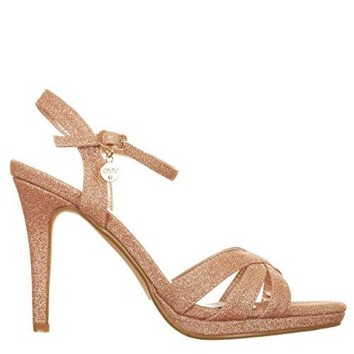 Sandali con tacco ROSA Rosa