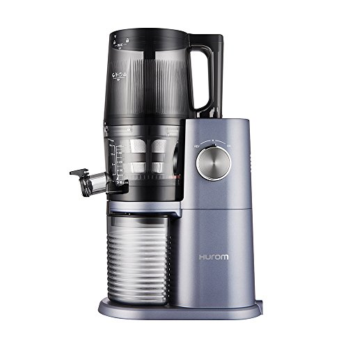 Hurom One Stop h-ai Slow Juicer 200 W Blue, Stainless Steel – Juice Makers (Slow Juicer, Blue, Stainless Steel, 60 RPM, 0.5 l, Rotary, 200 W)
