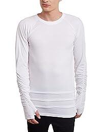 FUGAZEE Gathered Sleeves T-Shirt
