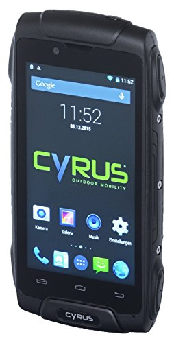 CYRUS CYR10046 CS 30 IP68 Outdoor 11,3 cm (4,5 Zoll) Smartphone (Android 4.4.4) Hochauflösende Satelliten-fotos