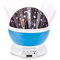 Cielo di stelle blu Ultra® proiettore lampada di notte per la scuola materna per bambini camere da letto bambini