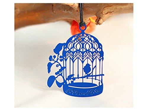 tragbar Handgemachte Birdcage Lesezeichen Metall Hohl Mark Buch Marker für Mädchen Jungen Erwachsene Bücherwürmer für Geschenk