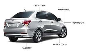 Hyundai Xcent Chrome accessories