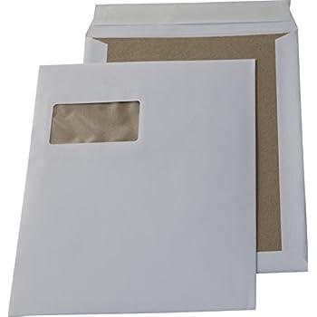 2x 5 Stück Papprückwand-Versandtaschen C4 ohne Fenster Haftklebend weiß 10