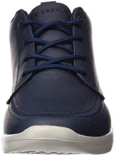 YUMAS Braxton Boot, Botines à lacets homme Bleu Marine