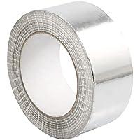 STERR - Cinta de aluminio Cinta de aluminio plateada 50 mm x 50 m