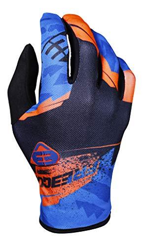 SHOT Kid Hero Neon Arancione Paio di guanti moto, Neon, 10/11ANNI