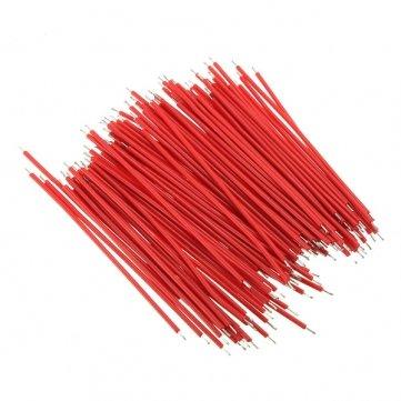 Man Friday 100pcs Breadboard Brücker-Kabel -Test für Experiment 1.0mm 6cm Rot