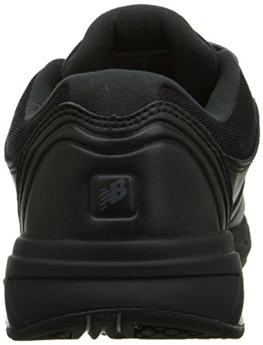 New Balance Women's WW813 Walking Hook & Loop Shoes Black