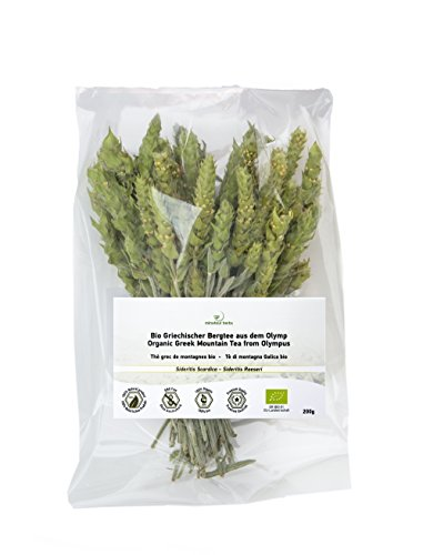 Minotaur Herbs | Bio Griechischer Bergtee aus dem Olymp 200g | Premium Qualität aus kontrolliert biologischem Anbau -