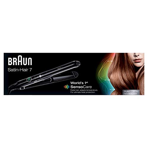 Braun Satin Hair 7 SensoCare ST780, Piastra per Ca...