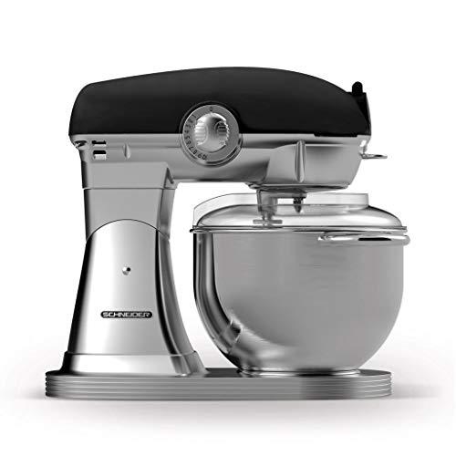 Robot culinaire Schneider SCFP57 B Retro noir mat