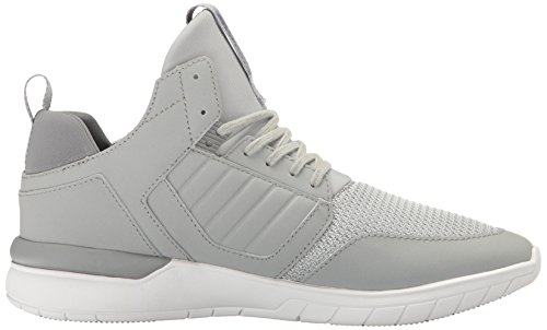 K-Swiss Method, Sneaker Uomo Grey (Lt.Grey/White)