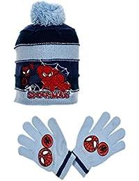 Spiderman Jungen Schal & Handschuh-Set