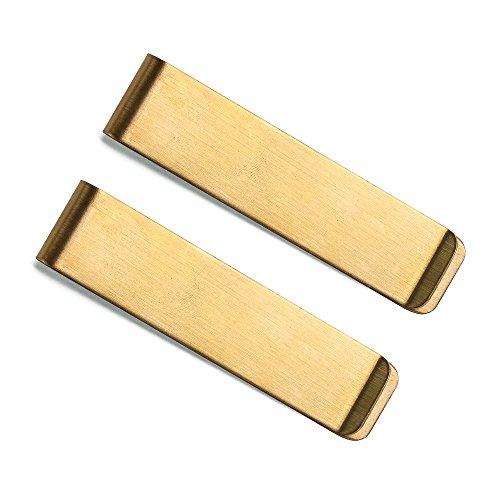 Leder-Journal-Notizbuch mit Metall-Stifthalter-Clip 2 Metal Clip - Bronze