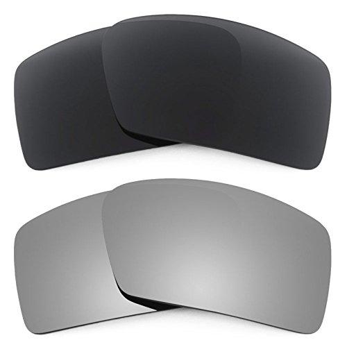 Revant Ersatzlinsen für Oakley Eyepatch 2 Polarisiert 2 Paar Kombipack K001