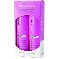 Kit Antigiallo / Shampoo 300 ml + Maschera 300 ml - NO YELLOW KIT INEBRYA ICE CREAM