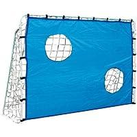 Fußballtor mit Torwand, aus stabilem, strapazierfähigem und wetterfestem Material, ideal zum Trainieren der Zielgenauigkeit von Torschüssen, ein tolles Spielzeug für den heimischen Garten