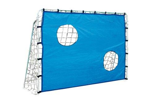 and, aus stabilem, strapazierfähigem und wetterfestem Material, ideal zum Trainieren der Zielgenauigkeit von Torschüssen, ein tolles Spielzeug für den heimischen Garten (Fußball-wurf-spiel)