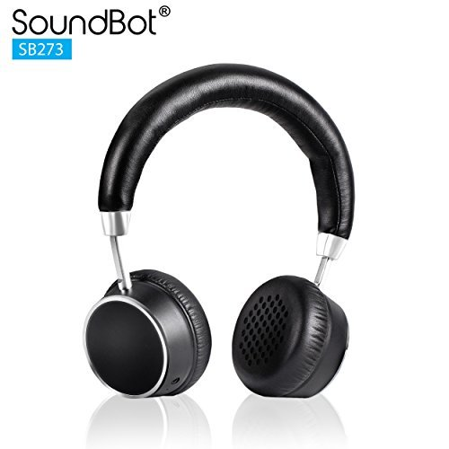 2cc93bf656e Buy Soundbot SB273 Bluetooth Headphone (Black) Online at Lowest ...