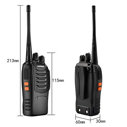 Zoom IMG-2 walkie talkie professionali sunreal bf