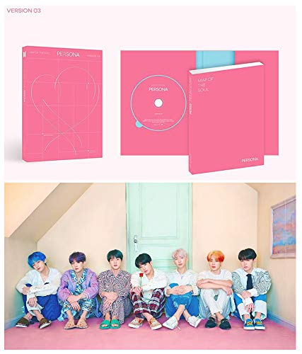 BTS Map of The Soul Persona Album PreOrder