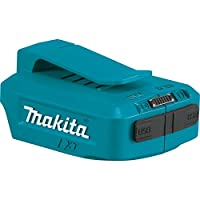 Makita DEAADP05 14.4 - 18 V Li-Ion USB Adapter - Blue