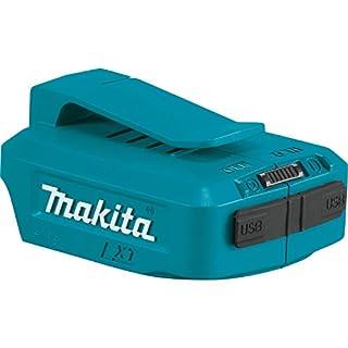 Makita DEBADPP05 14.4 - 18 V Li-Ion USB Adapter - Blue