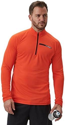 Adidas Tracero 1 2 LS, Maglietta Uomo, Uomo, Uomo, Blu (Energi), 204   In Linea Outlet Store    Di Qualità Dei Prodotti  801c75