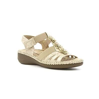Cushion Walk - Beleg auf Komfort Sandale im Weiß für Frauen durch Cushion Walk - Größe 6 UK / 39.5 EU - Weiß dta0Zmf