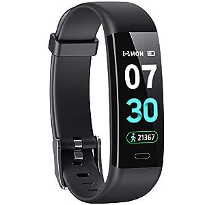 HOFIT Pulsera Actividad Reloj Inteligente Fitness Tracker Podómetro Monitor de Sueño Contador de Calorías Pasos Rastreador de Ejercicios Reloj Salud Pulsera Deportiva para Niños Mujeres Hombres 3