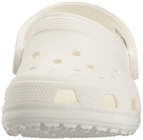 Crocs Classic, Sabots Mixte Adulte Blanc (White)