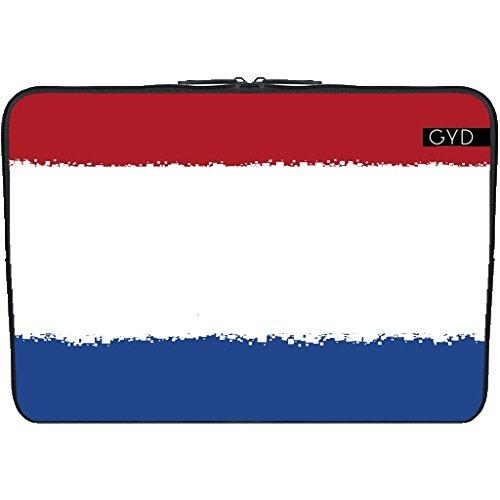 "Coperchio Neoprene Laptop Netbook PC 15.6 ""pollici - Paesi Bassi 8 Bit by Cadellin"