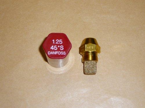 Danfoss Oil Fired Boiler Burner Nozzle 1.25 x 45 S USgal/h ° Degree Spray Pattern Heating Jet 4.71 K