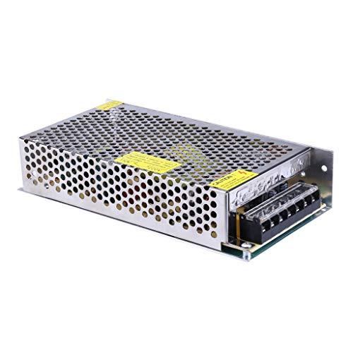 Wokee 110V-220V ZU DC 5V 12V 24V Trafo Transformator Adapter Netzteil Schaltnetzteil für LED Streifen 3D Drucker und weitere Geräte Licht mit DC 12V (24-volt-geräte)