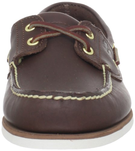 Timberland Classic Boat Amherst 2-Eye Boat, Mocassins homme Marron (Burnished Dark Brown)