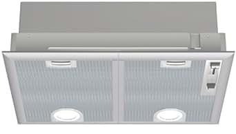 Bosch DHL565B Hotte Groupe Filtrant- 750 m3/h 62 dB 360 W Gris Métal
