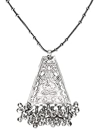 The Indian Handicraft Store Ganesha Ghungroo Chain Necklace