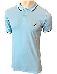 SODACODA Polo en Coton pour Homme – Golf Tennis Sport T-Shirt