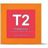 T2 Tea Fruitalicious Loose Leaf Fruit Tea in Gift Cube, 100 g