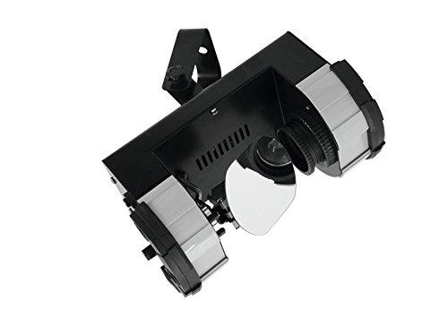 EUROLITE–LED pst-10QCL RGBW 10W Scanner-Punkt drehbar