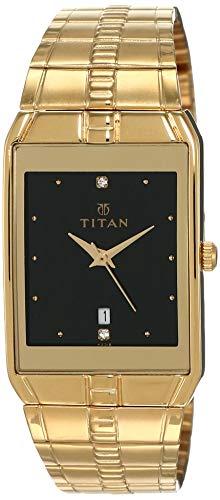 Titan Karishma Analog Black Dial Men's Watch -NK9151YM05